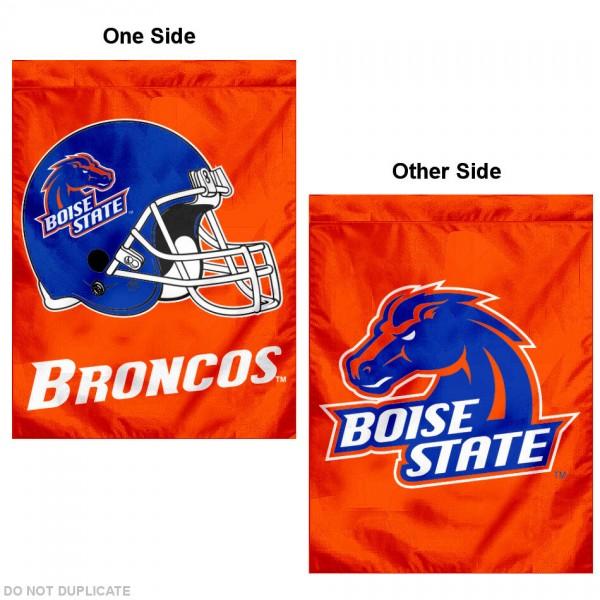 Boise State Broncos Dual Logo House Flag