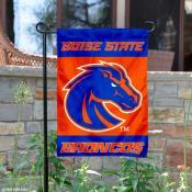 Boise State Broncos Logo Garden Banner