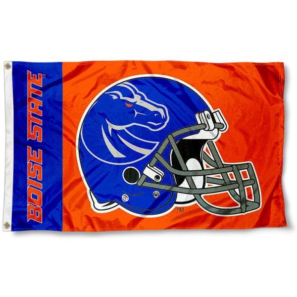 Boise State Broncos New Football Helmet Flag
