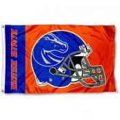 Boise State Broncos New Football Helmet Flag