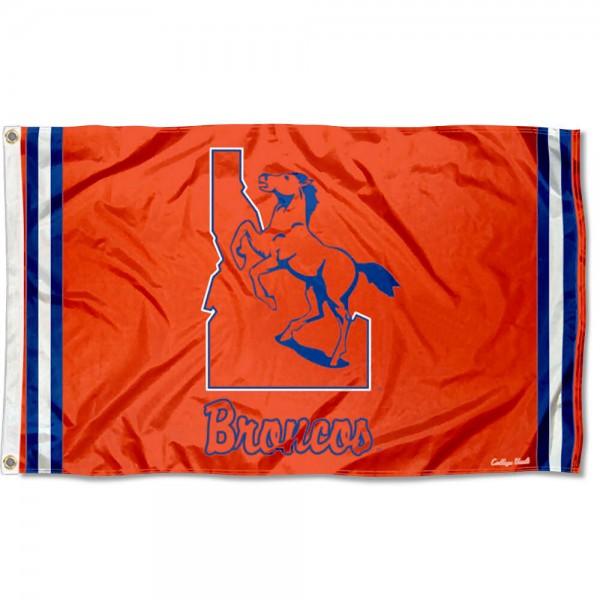 Boise State Broncos Retro Vintage 3x5 Feet Banner Flag