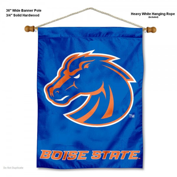 Boise State Broncos Wall Hanging