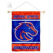 Boise State Broncos Window Hanging Banner with Suction Cup