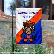 Boise State Broncos Yuru Chara Tokyo Dachi Garden Flag