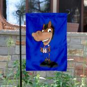 Boise State Mascot Buster Garden Flag
