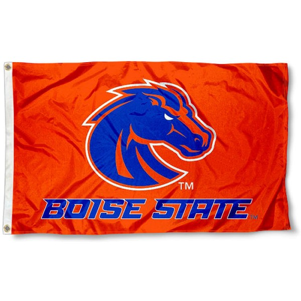 Boise State University Broncos Flag