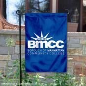 Borough of Manhattan Community College Panthers Double Sided Garden Flag
