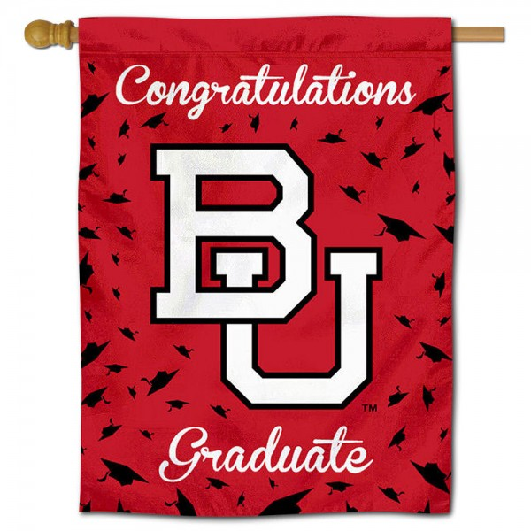 Boston BU Terriers Graduation Banner