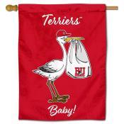 Boston BU Terriers New Baby Banner