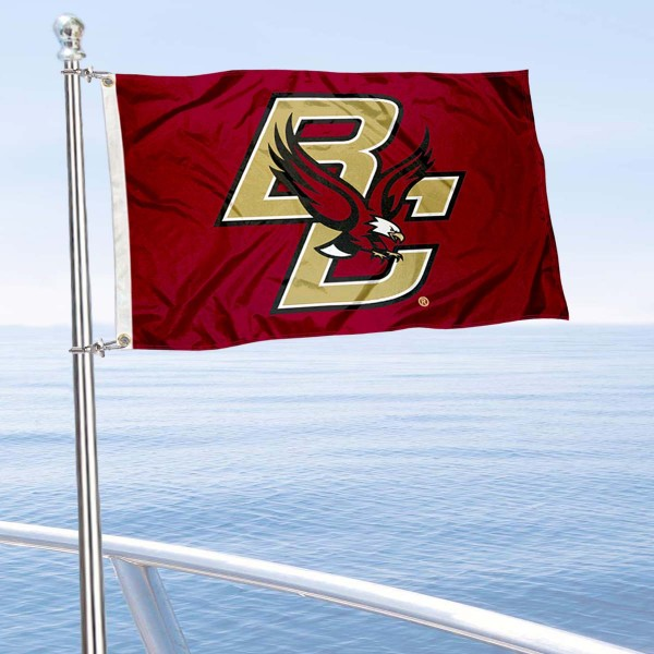 Boston College Boat Flag