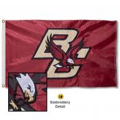 Boston College Eagles Appliqued Sewn Nylon Flag