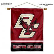 Boston College Eagles Banner with Pole