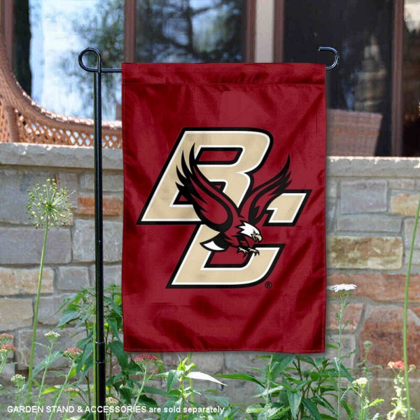 Boston College Eagles BC Logo Garden Flag