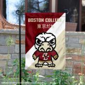 Boston College Eagles Yuru Chara Tokyo Dachi Garden Flag