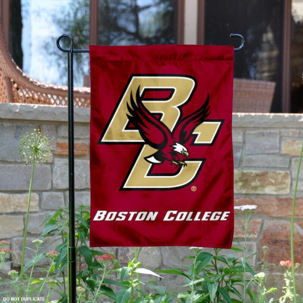 Boston College Garden Flag