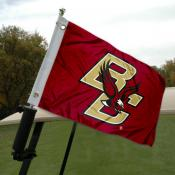 Boston College Golf Cart Flag