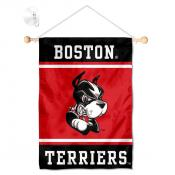 Boston Terriers Window Hanging Banner with Suction Cup