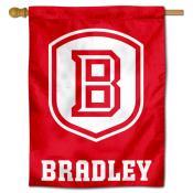 Bradley Braves B Logo House Flag