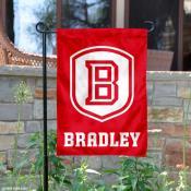 Bradley Braves Garden Flag