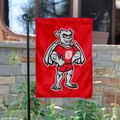 Bradley Braves Mascot Garden Flag