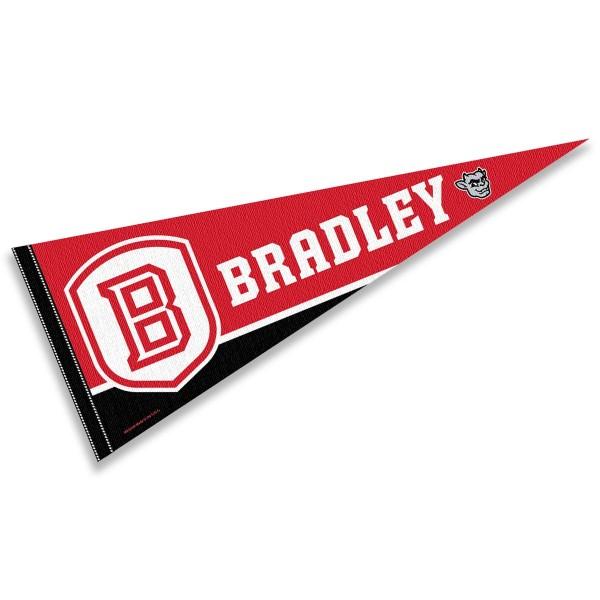 Bradley Braves Pennant