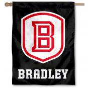 Bradley University Braves House Flag