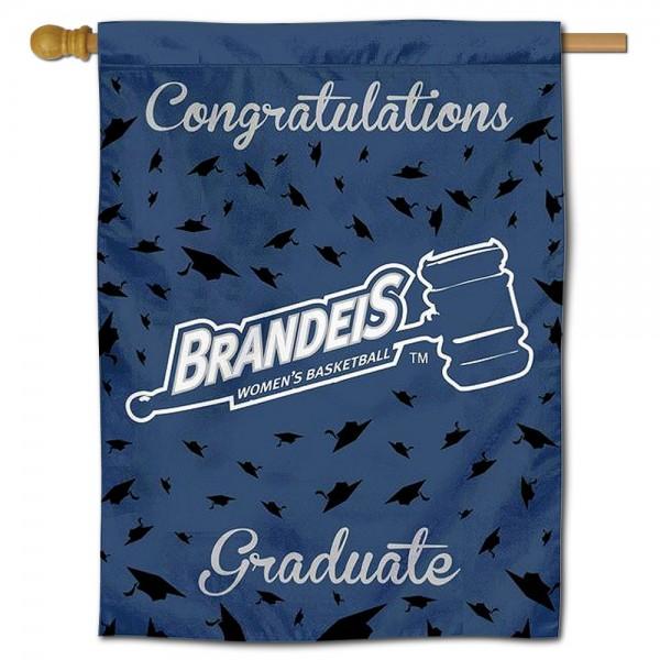 Brandeis Judges Graduation Banner