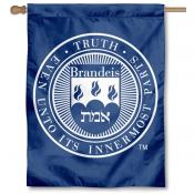 Brandeis University Logo House Flag