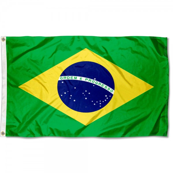 Brazil Country 3x5 Polyester Flag
