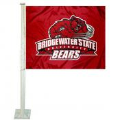 Bridgewater State Bears Car Flag
