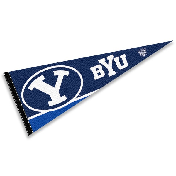Brigham Young BYU Cougars Pennant