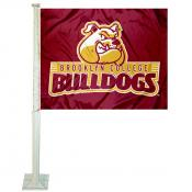Brooklyn College Bulldogs Car Flag
