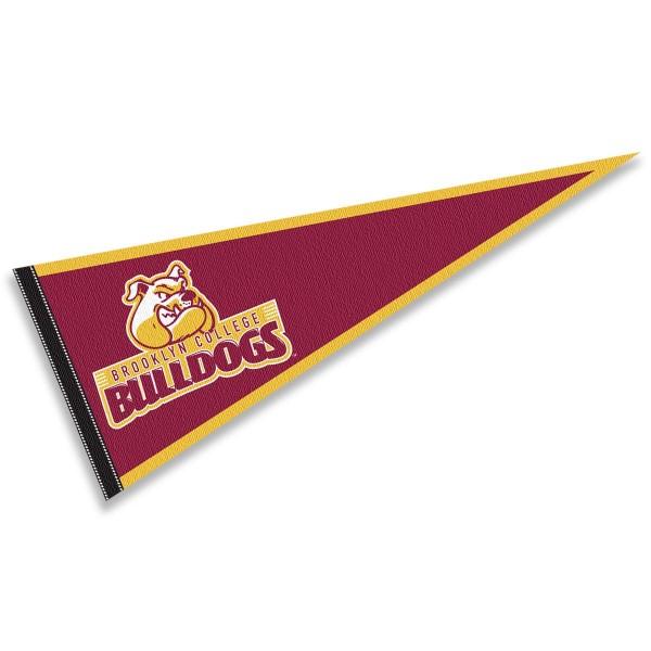 Brooklyn College Bulldogs Pennant
