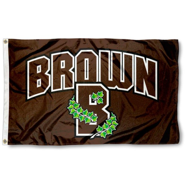 Brown Bears Athletic Insignia 3x5 Foot Flag