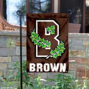 Brown Bears Athletic Ivy B Logo Garden Flag