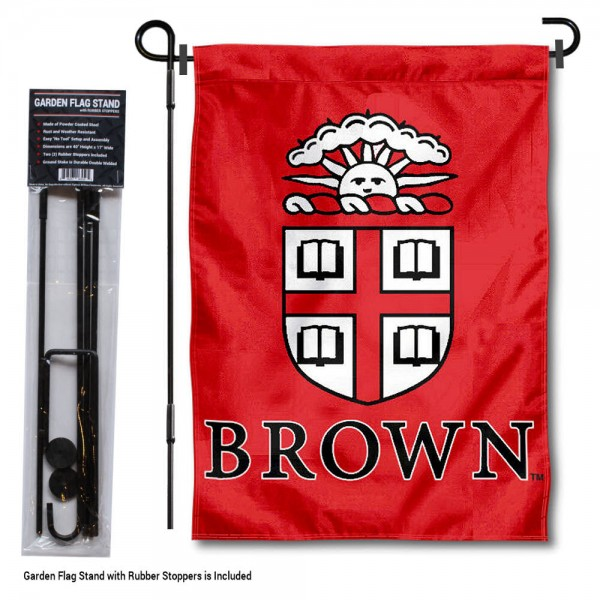 Brown Bears Garden Flag and Holder