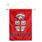 Brown Bears Window Hanging Banner with Suction Cup