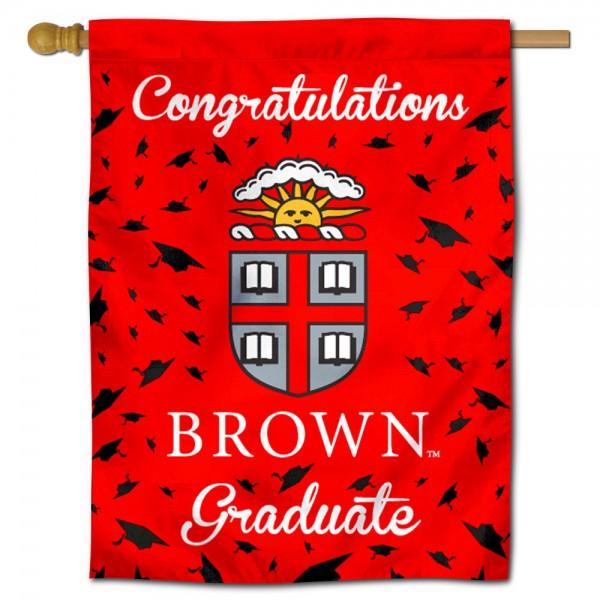 Brown University Graduation Banner
