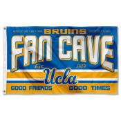 Bruins Man Cave Dorm Room 3x5 Banner Flag
