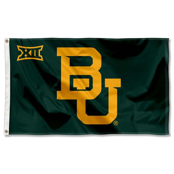 BU Bears Big 12 Flag