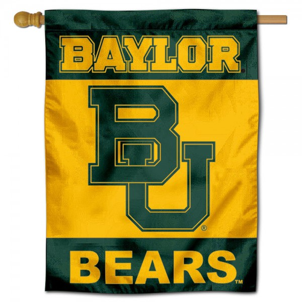 BU Bears House Flag