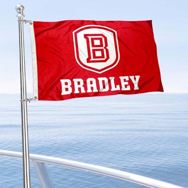 BU Braves Boat Nautical Flag