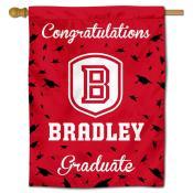 BU Braves Graduation Banner