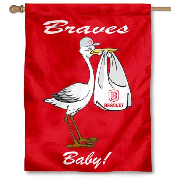 BU Braves New Baby Banner
