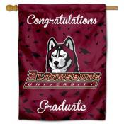 BU Huskies Graduation Banner