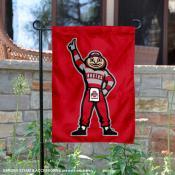 Buckeyes Brutus Standing Garden Flag
