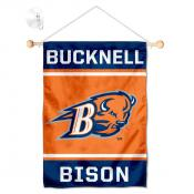 Bucknell Bison Window Hanging Banner with Suction Cup