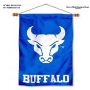 Buffalo Bulls Banner with Pole