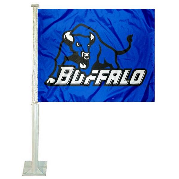 Buffalo Bulls Car Flag