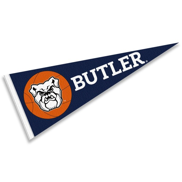 Butler Bulldogs Basketball Pennant